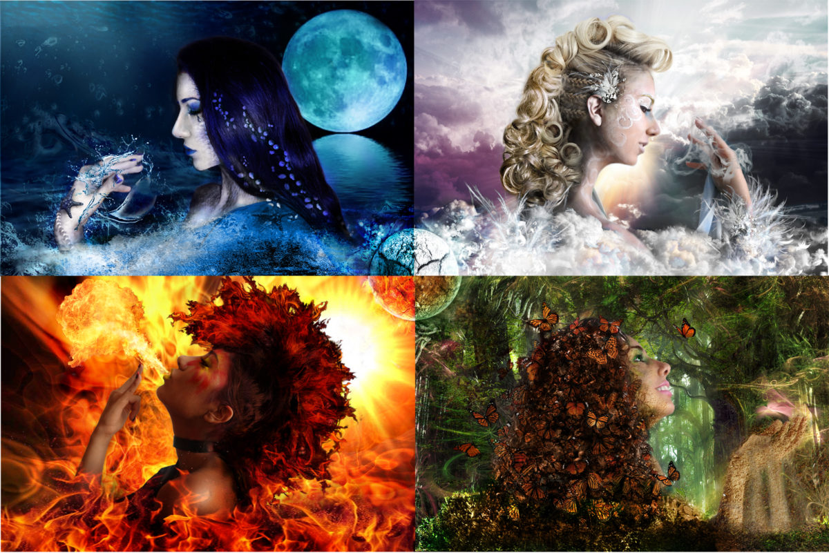 Are You a Fire, Earth, Air or Water Spirit?1