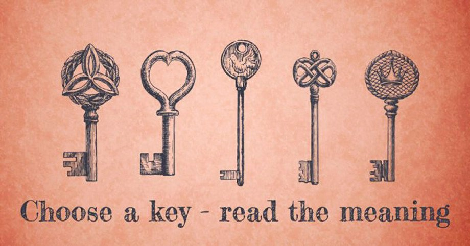 Choose a Key & Unlock Your Inner Magic