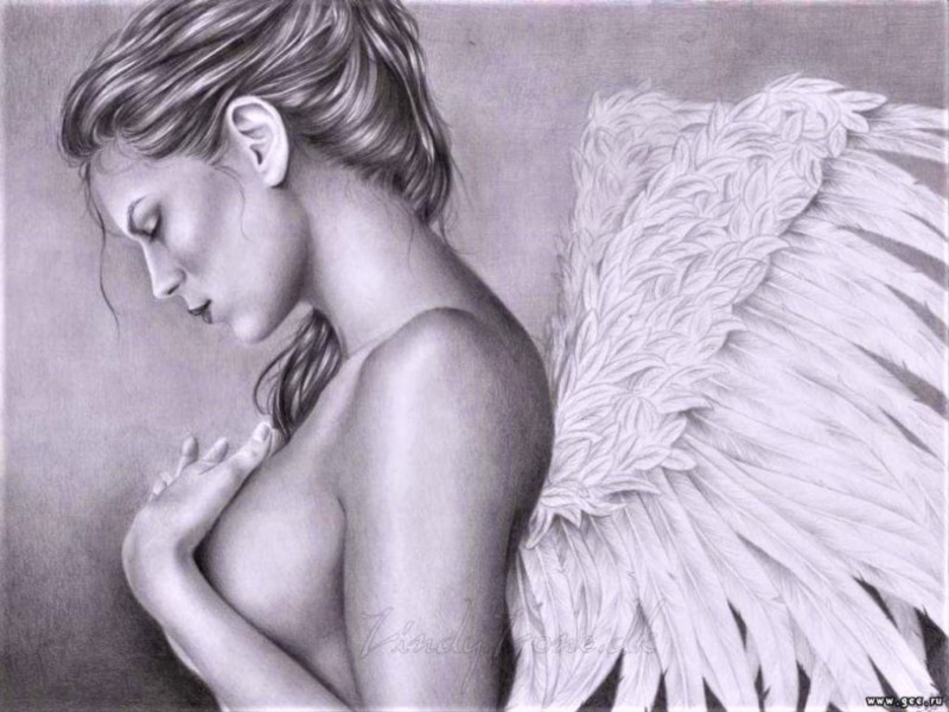If He Only Loves Angels With Broken Wings, It's Time To Go Away