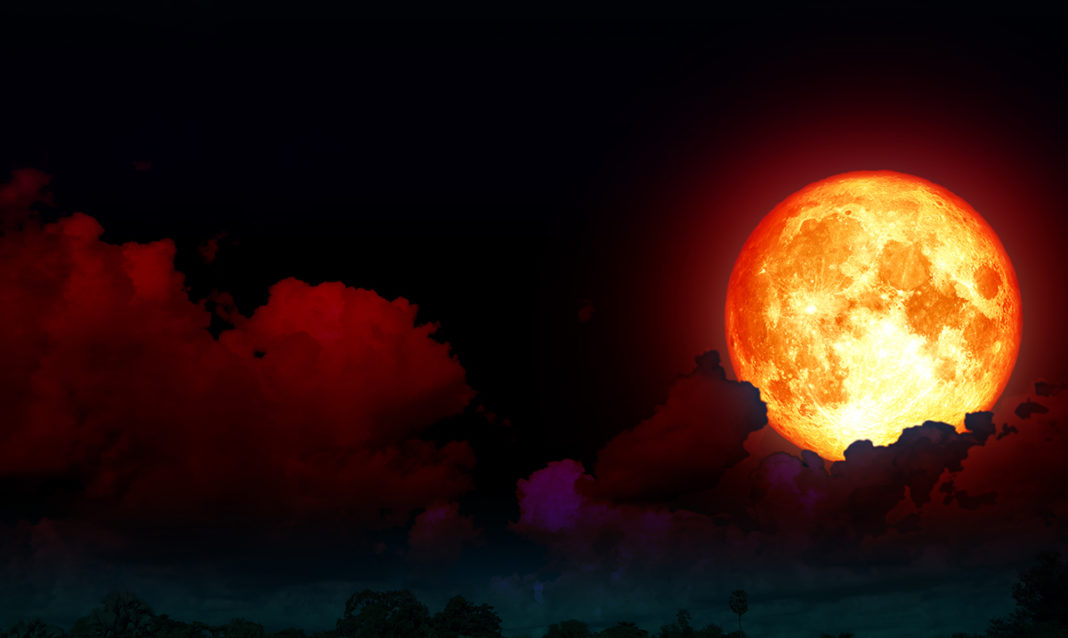 Powerful Blood Moon/Total Lunar Eclipse On July 27th: Strong Winds Of Change