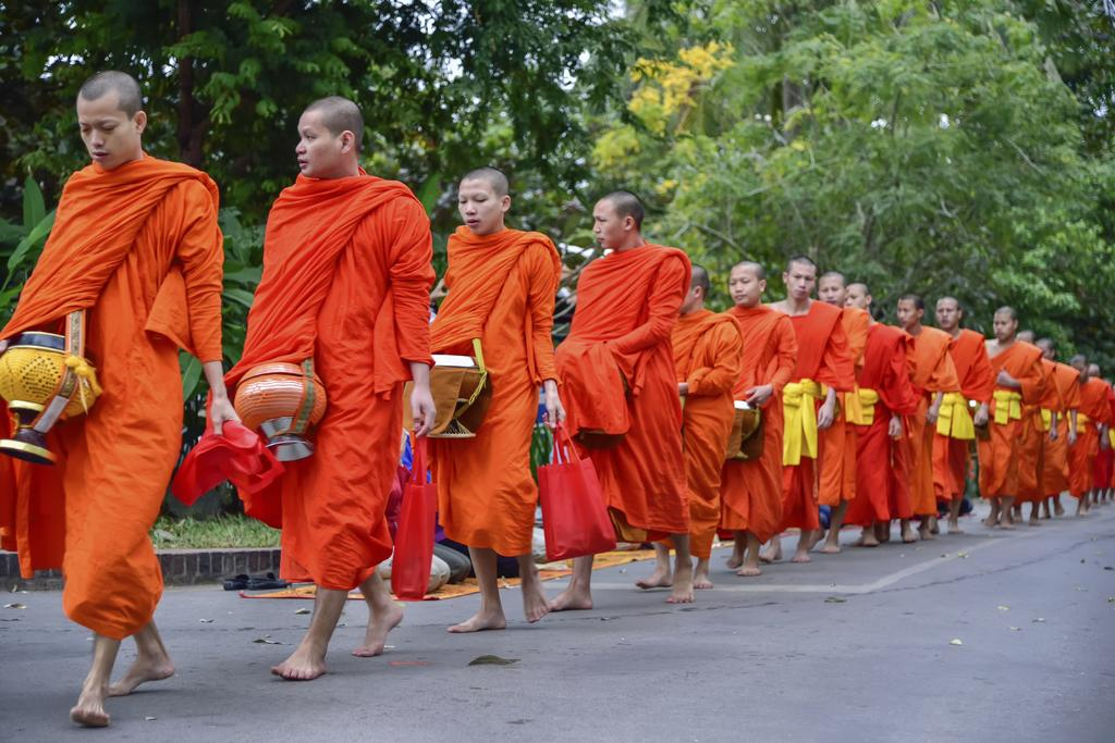 Why Monks Wear Orange Robes