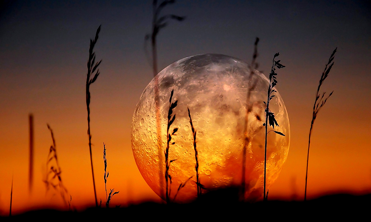 Today Aries Full Moon Conjunct Chiron Retrograde: Light At