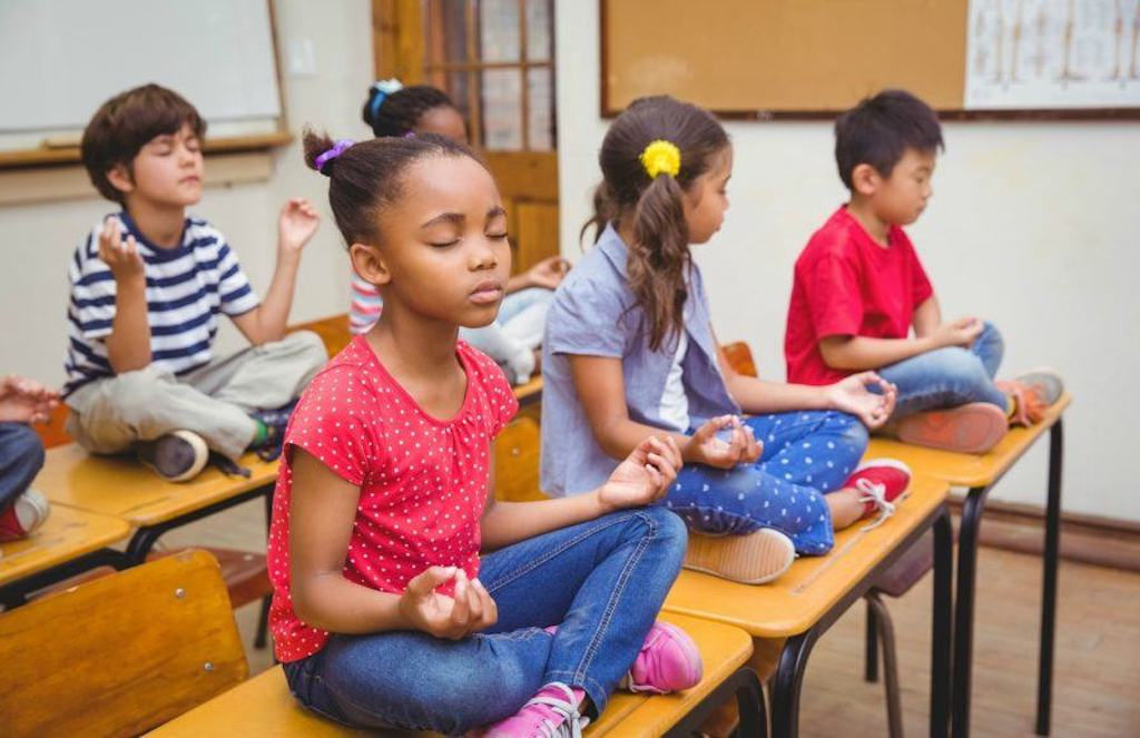 This School Prefers Meditation To Detention, And The Results Are Already Changing Students' Lives