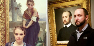 26 Visitors Surprised To See Their Doppelgänger In A Museum