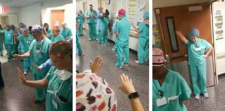 The Staff Of This Hospital Get Together To Pray For The Patients Everyday