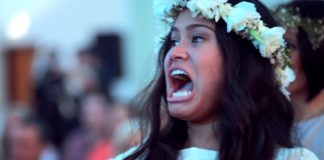 Emotion-Packed Wedding Haka Moves New Zealand Maori Bride To Tears
