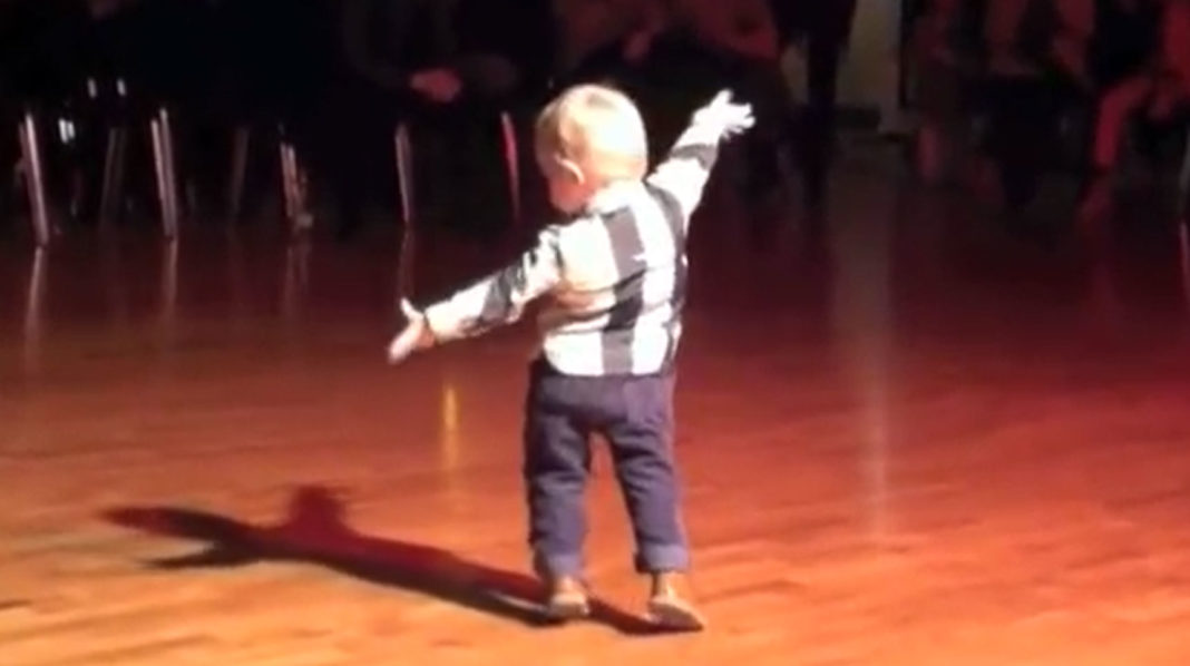Toddler Hears Favorite Song, Starts To Dance And Brakes The Internet