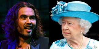 Russel Brand Creates Media Scandal After He Calls The Queen By Her True Family Name