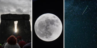 Tonight's Winter Solstice Features A Supermoon, A Meteor Shower, AND Mercury/Jupiter Conjunction