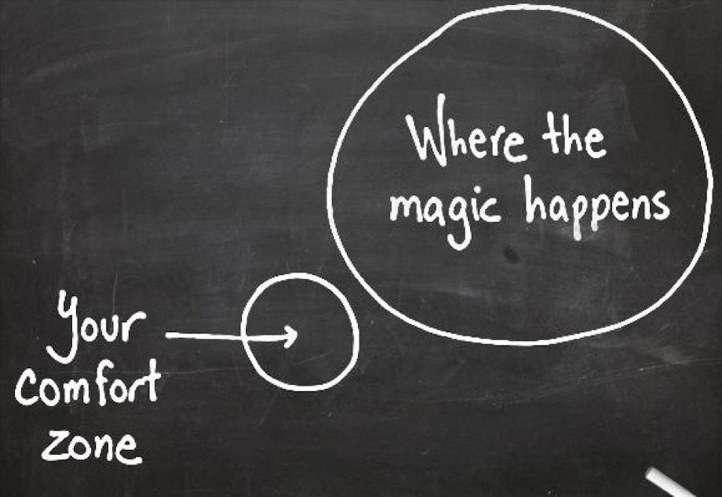 Push Your Boundaries And Leave The Comfort Zone