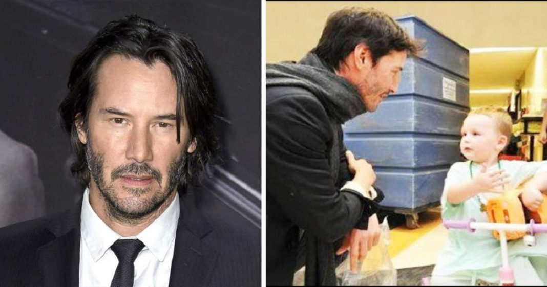 Keanu Reeves Proves His Kindness By Secretly Financing Children's Hospitals.