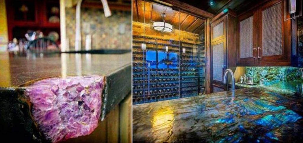 Gemstone Countertops Do Exist And You'll Want One When You See Them