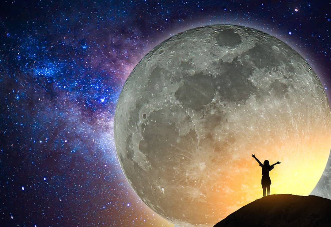 9a2340834 Get Ready For A Major Energy Shift: The Rare Giant Super Moon In Virgo,.  Consciousness · Zodiac & Astrology