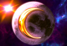 April New & Full Moons Are Bringing A Burst Of Powerful Energies