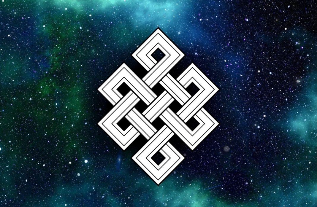 The Meaning Behind The Buddhist Eternal Knot Symbol