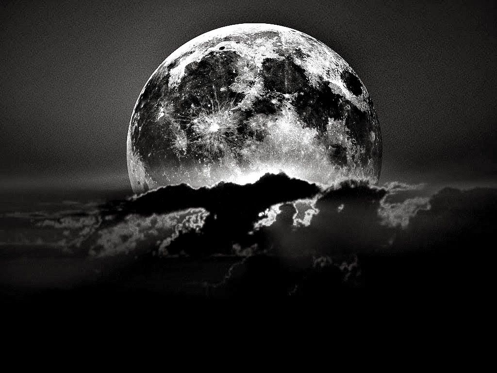 black-and-white-moon-pictures