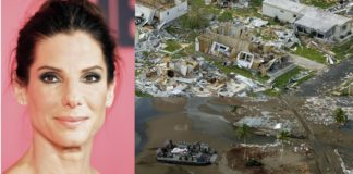 Sandra Bullock Is A Silent Guardian Angel For Disaster Victims Around The World