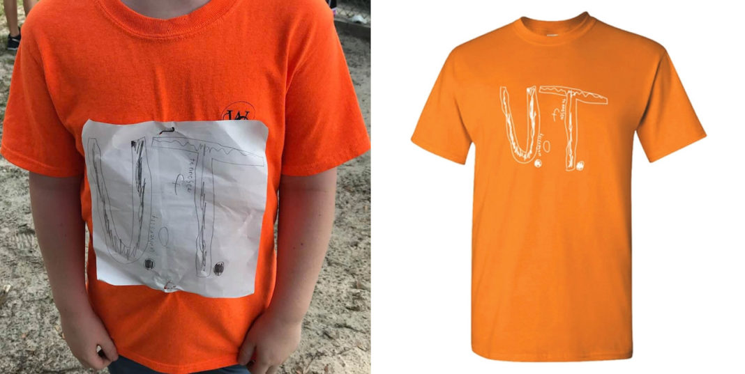 4th-Grader Bullied For His DIY T-Shirt Now Has A Scholarship From The University Of Tennessee