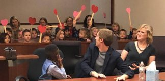 Kindergartner Invites All His Adorable Friends To Witness His Adoption