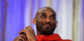 Kobe Bryant promoting the book 'The Wizenard Series: Training Camp'in Philadelphia on March 21, 2019. Matt Rourke/AP/Shutterstock