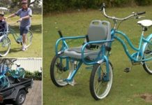 The Bike Chair Is Here And It'll Help You Take Someone With Limited Mobility Out For A Ride